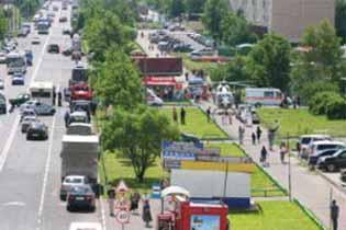 ДТП в Москве: на ул. Шолохова маршрутка столкнулась с легковушкой - пострадавших забирал вертолет